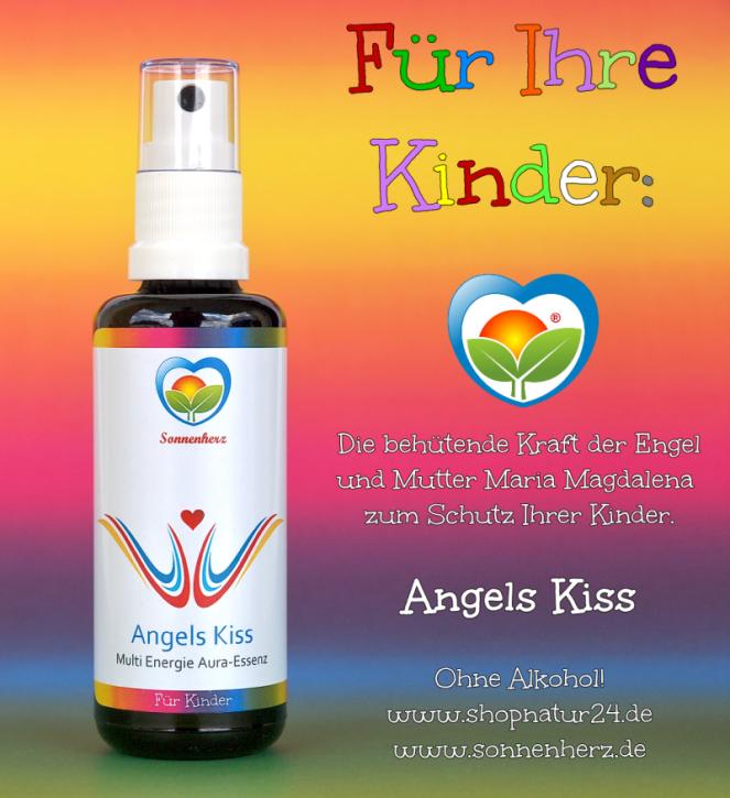 Angels Kiss Multi Energie Erzengel Aura-Essenz für Kinder 50ml- Power-Frequenzen von Sonnenherz