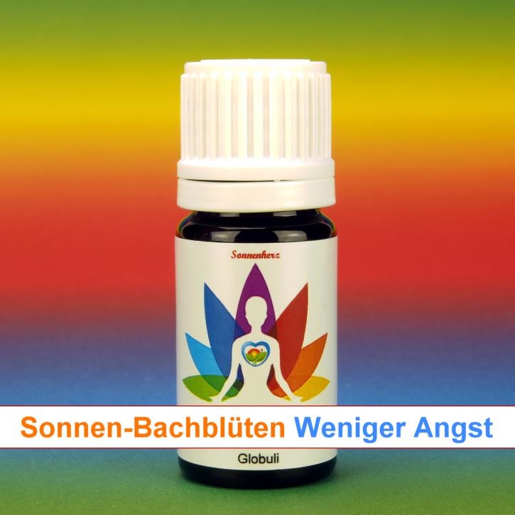 """Bachblüten Spezial Globuli """"Weniger Angst"""" von Sonnenherz - energetische und feinstoffliche  Globuli"""