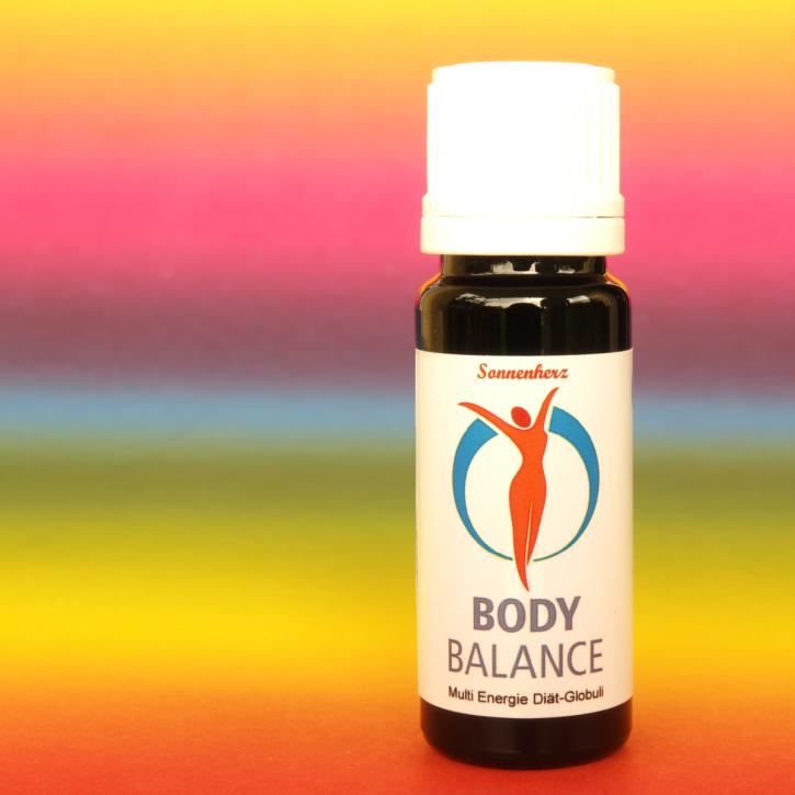 Sonnen- Bachblüten Body Balance für Ihre Diät, zum Abnehmen, für Fettverbrennung und für mentale Stärke.