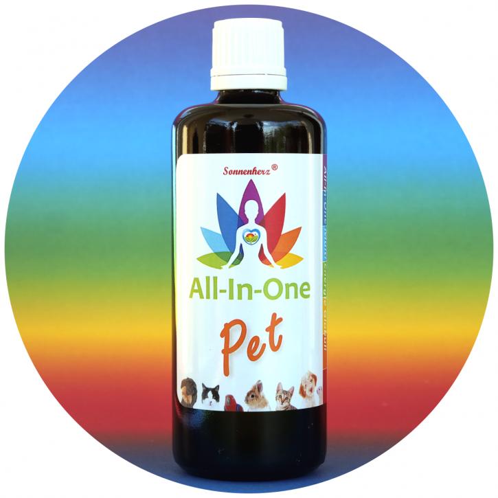 NEU! All-In-One Globuli PET für Tiere 100g Vorratspackung für Therapeuten, Heilpraktiker, Apotheken, Wiederverkäufer ... von Sonnenherz
