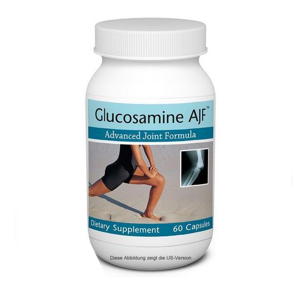 Unicity Glucosamine AJF ® Spezifische Nährstoffe zur Unterstützung gesunder Gelenkelastizität.