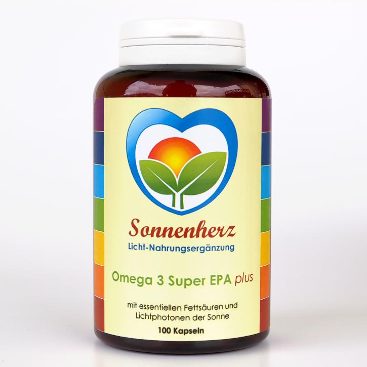 Energetisches Omega-3 Super EPA plus - 100 Kapseln von Sonnenherz