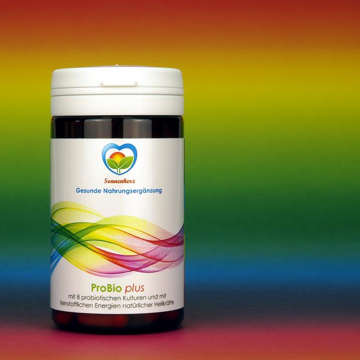 WELTNEUHEIT: ProBio- Kapseln (probiotische) plus Energien natürlicher Heilkräfte von Sonnenherz - 90 Kapseln