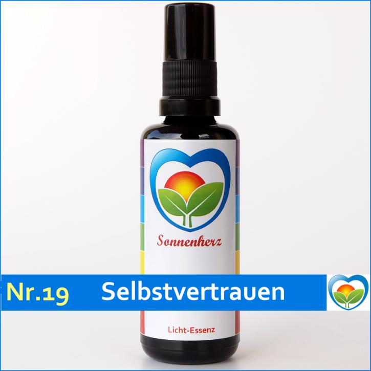 """Lichtessenz Nr. 19 """"Selbstvertrauen"""" von Sonnenherz - Aura Spray"""