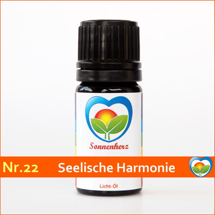 """Sonnen-energetisches Lichtöl Nr. 22 """"Seelische Harmonie"""" von Sonnenherz"""