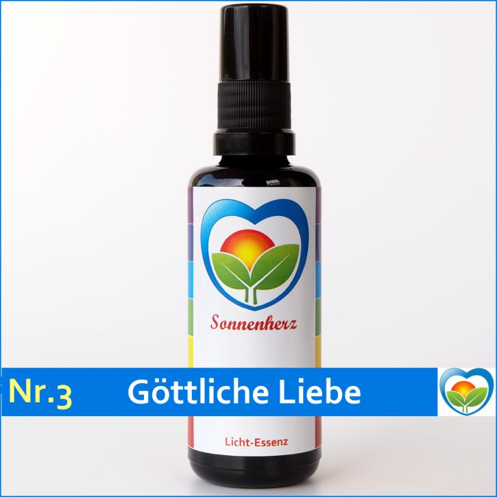 """Lichtessenz Nr. 3 """"Göttliche Liebe"""" Sonnenherz Aura Spray"""