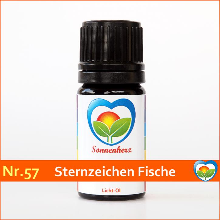 """Sonnen-energetisches Lichtöl Nr. 57 """"Sternzeichen Fisch"""" von Sonnenherz"""