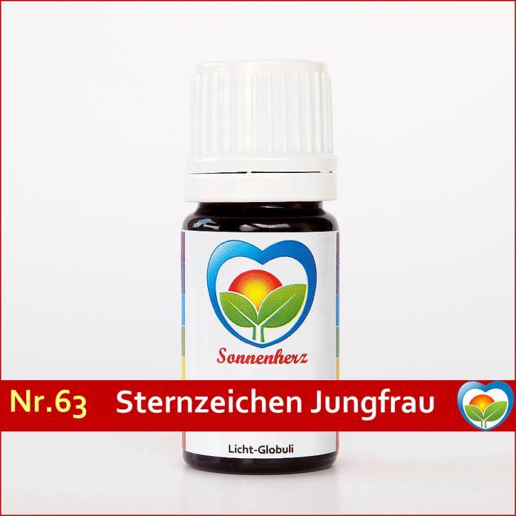 """Sonnenglobuli Nr. 63 """"Sternzeichen Jungfrau"""" von Sonnenherz - energetische Lichtglobuli"""