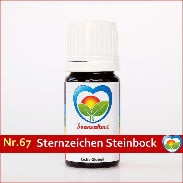 """Sonnenglobuli Nr. 67 """"Sternzeichen Steinbock"""" von Sonnenherz energetische Lichtglobuli"""