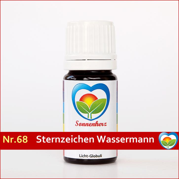 """Sonnenglobuli Nr. 68 """"Sternzeichen Wassermann"""" von Sonnenherz - energetische Lichtglobuli"""