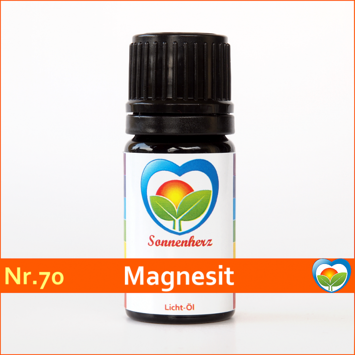 """Sonnen-energetisches Lichtöl Nr. 70 """"Heilstein Magnesit"""" von Sonnenherz"""