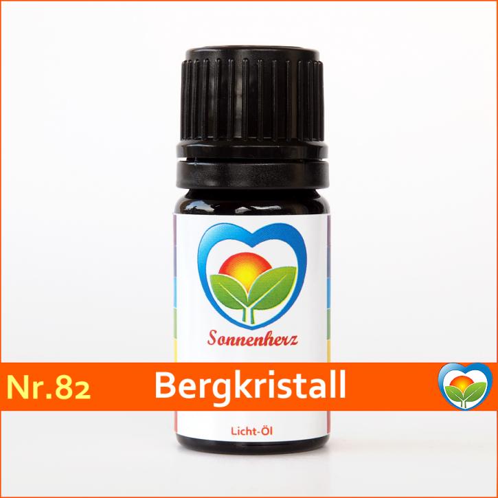 """Sonnen-energetisches Lichtöl Nr. 82 """"Heilstein Bergkristall"""" von Sonnenherz"""
