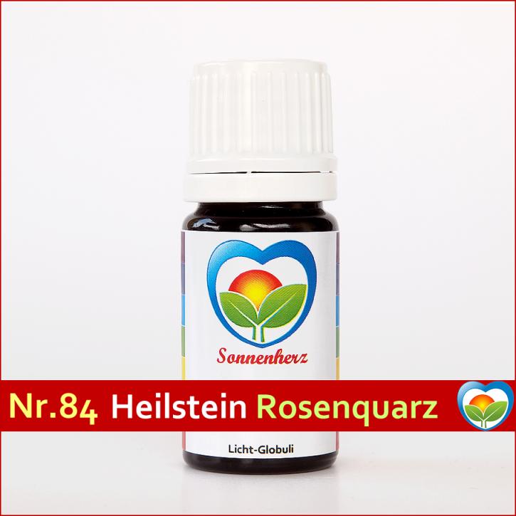 Rosenquarz-Globuli Nr. 84 energetische Lichtglobuli & Heilsteinfrequenzen von Sonnenherz