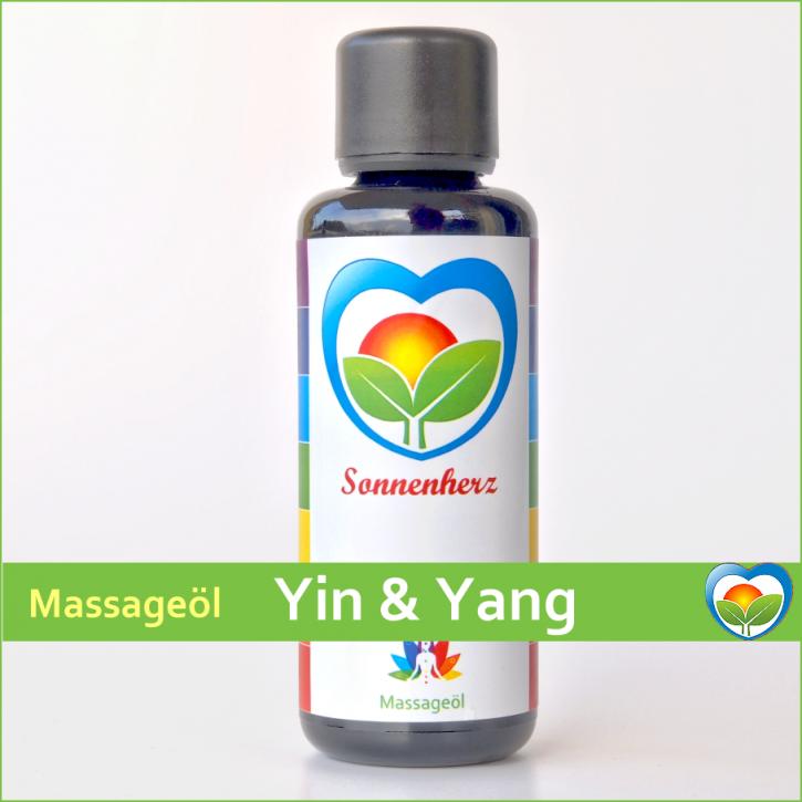 Yin & Yang - Energetisches Massageöl von Sonnenherz - 50ml