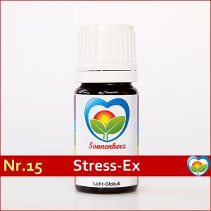 """Sonnenglobuli Nr. 15 """"Stress EX"""" von Sonnenherz - energetische Lichtglobuli"""
