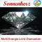 """Glas- Lichtdiamant """"Erdung"""" Nr. 7 von Sonnenherz: Power-Frequenzen für Ihren Energiekörper"""