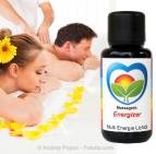 Sonnenherz Massageöl Energizer: Maximum Flow 600 - Hochschwingendes Mandelöl zur Energetisierung Ihres Massageöls.