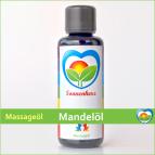 Mandelöl Massageöl von Sonnenherz 100ml