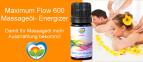 Massageöl Energizer: Maximum Flow 300 - Hochschwingendes Mandelöl zur Energetisierung Ihres Massageöls.