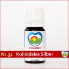 """Sonnenglobuli Nr. 32 """"Kolloidales Silber 100%"""" von Sonnenherz -energetische Lichtglobuli"""