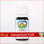 """Sonnenglobuli Nr. 35 """"Sonnenkraft Pur"""" von Sonnenherz - energetische Lichtglobuli"""