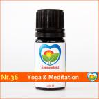 """Sonnen-energetisches Lichtöl Nr. 36 """"Yoga & Meditation"""" von Sonnenherz"""