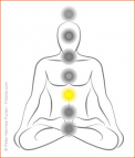 "Sonnenglobuli ""Sonnengeflechtchakra"" e-motion Healing Nr. 352 energetische Lichtglobuli"