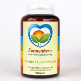 Energetisches Omega-3 Super EPA plus Sonnen-Lichtphotonen 100 Kapseln von Sonnenherz