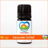 """Sonnen-energetisches Lichtöl Nr. 17 """"Gesunder Schlaf"""" von Sonnenherz"""