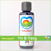 Yin & Yang - Energetisches Massageöl von Sonnenherz - 100ml