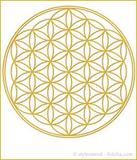 """Sonnenglobuli Nr. 8 """"Blume des Lebens"""" von Sonnenherz - energetische Lichtglobuli"""